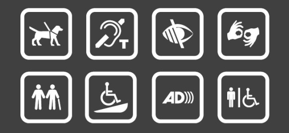accessibility icons billboard